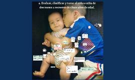 4. Evaluar, clasificar y tratar al niño o niña