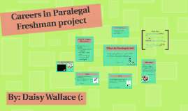 Careers in Paralegal