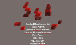 Applied Developmental Theory Activity