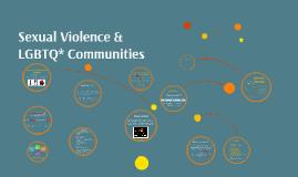 Workshop Wednesdays: Sexual Violence & LGBTQ* Communities