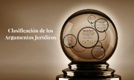 Copy of Clasificación de los Argumentos Juridicos