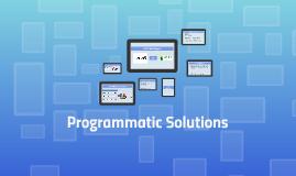 Programmatic Solutions PMP Data