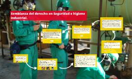 Copy of Semblanza del derecho en Seguridad e higiene industrial.