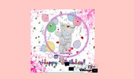 Happy birthday sidra my sister