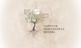 CAPITULO 8. SELECCIÓN DE LA MUESTRA