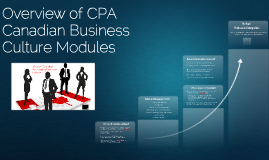 CPA Canadian Business Culture Modules Overview