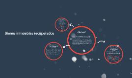 Copy of Bienes inmuebles recuperados