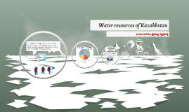 Water resources of Kazakhstan