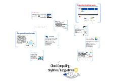 Computación en la nube - SkyDrive / Google Drive