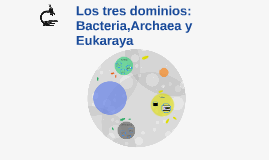 Los tres dominios: Bacteria,Archaea y Eukaraya