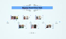 Beyonce Award Show STyp