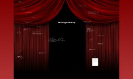 monologue mastery