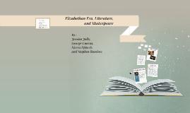 Elizabthean Literature and Shakespeare