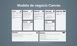 Copia de Modelo de negocio Canvas