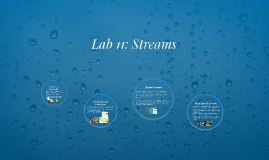 Lab 11: Streams