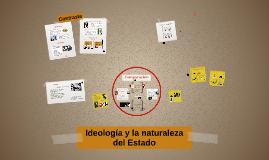 Ideología y la naturaleza del Estado