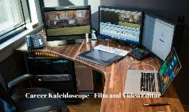 Career Kaleidoscope - Film and Video Editor