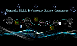 Unmarried Eligible Professionals: Choice or Consequence?
