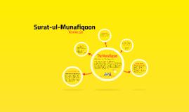 Surat-ul-Munafiqoon