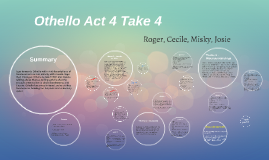 Othello Act 4
