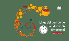 Línea del tiempo de la Educación Emocional