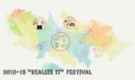 Realize It Festival