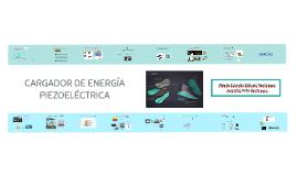 CARGADOR DE ENERGÍA PIEZOELECTRICA