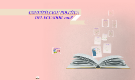 CONSTITUCION POLITICA DEL ECUADOR 2008