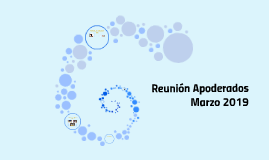 Reunión Apoderados    Marzo 2019