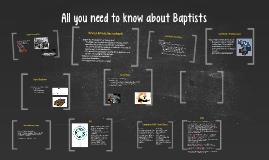 Baptist: 101