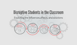 Copy of Disruptive Students in the Classroom