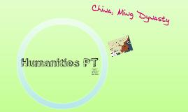 Humanities PT