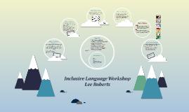 Copy of Inclusive Language