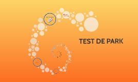 TEST DE PARK
