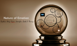 Copy of Nature of Emotion