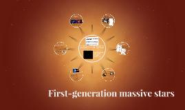 First-generation massive stars