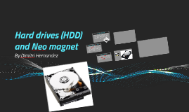 Hard drives and Neo magnet