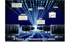 3 Types of Networking Cables