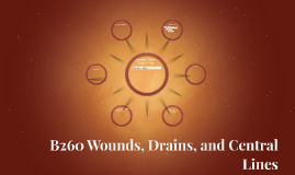 Copy of B260 Wounds, Drains, Lines