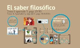 IB: SABER FILOSÓFICO