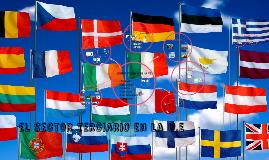 el sector terciario en la U.E