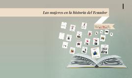 Las mujeres en la historia del ecuador