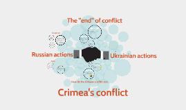 Crimea's conflict