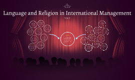 Language ang Religion in International Management