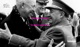 Dwight Eisenhower and Francisco Franco