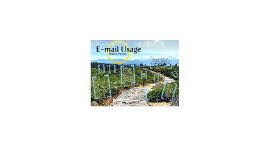 Copy of E-mail usage