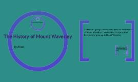 The History of Mount Waverley