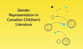 Gender Representation in Canadian Children's Literature