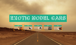EXOTIC MODEL CARS