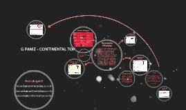 Copy of G PANIZ - CONTINENTAL TOP